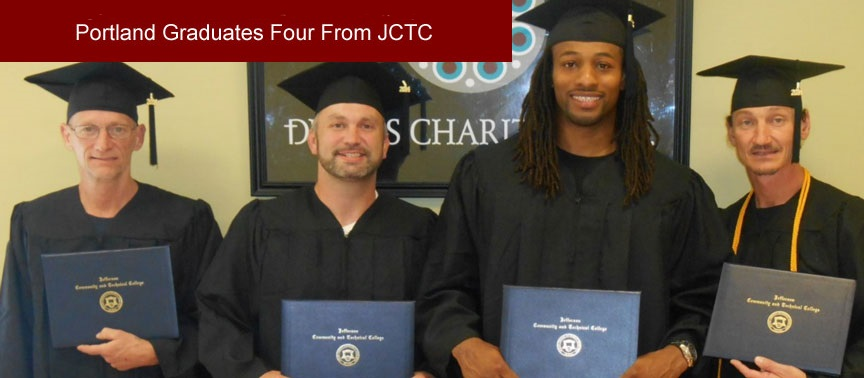 Dismas Charities Portland Graduates Four From JCTC