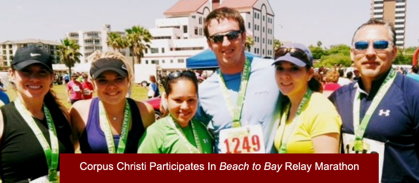 Dismas Charities Corpus Christi Participates In Beach to Bay Relay Marathon