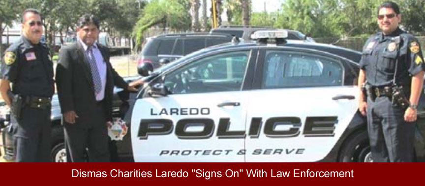 "Dismas Charities Laredo ""Signs On"" With Law Enforcement"