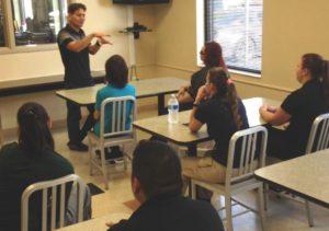 Dismas Charities Tucson Staff; Residents Repair/Clean Nursery School