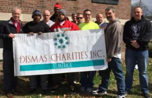 Dismas Charities St. Patrick Answers Louisville Mayor's Call To Help Clean-Up
