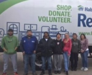 Dismas Charities El Paso Residents Help Habitat Restore