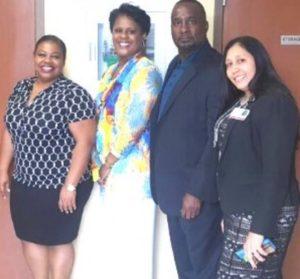 Warden Visits Dismas Charities Dania Beach Program