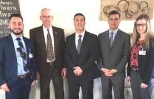 Judges, U.S. Probation Supervisor Visit Diersen Charities Las Cruces