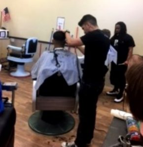 Dismas Charities El Paso Residents Get Free Haircuts From Student Barbers