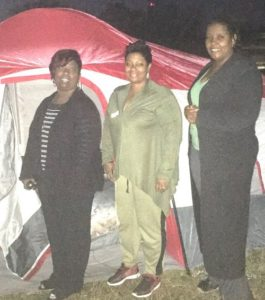 To Help The Homeless Dismas Charities Macon Staff Participate In Sleepout
