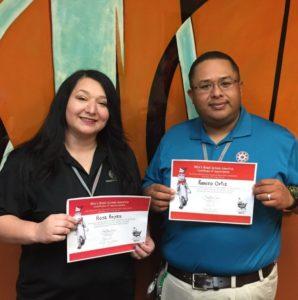 Dismas Charities Del Rio Staff Read At Elementary School