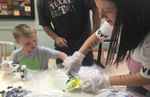 To Enhance Family Dismas Charities Midland Holds T-Shirt Decorating Event