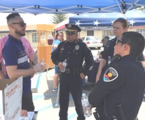 Diersen Charities Las Cruces Honors First Responders With Cookout