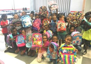 Dismas Charities Atlanta Program Hosts Back Pack Drive
