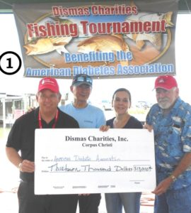Dismas Charities Corpus Christi, Best Tournament Yet, To Aid The American Diabetes Association