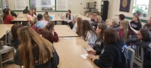 Dismas Charities SAP Resident Panel Talks To Students