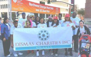 Dismas Charities Atlanta staff, Residents Participate In Heart Walk