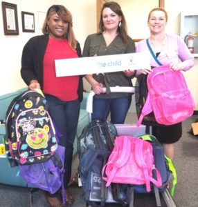 Dismas Charities Savannah Donates Backpacks To CASA