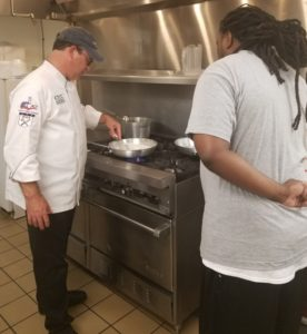 Dismas Charities Greensboro Begins Culinary Class