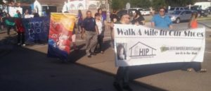 Corpus Christi Staff Participate In Hunger and Homelessness Awareness Week Walk