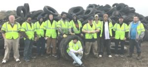 Dismas Charities Portland Residents Thanked For Help In Tire Roundup