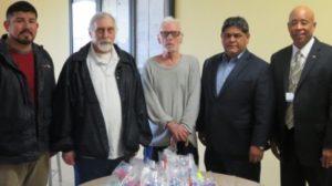 VA Representative Helps Dismas Charities Laredo Resident Veterans