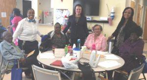 Dismas Charities Savannah Staff Entertain Seniors With Bingo