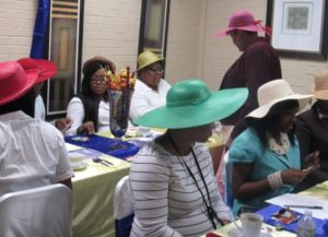 Dismas Charities Montgomery Holds Tea Party For Staff & Residents