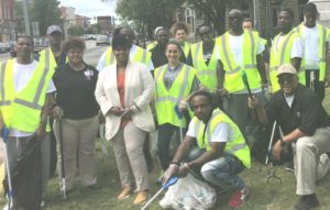 Dismas Charities Macon Residents & Staff Clean Second Street