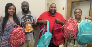 Dismas Charities Savannah Donates Backpacks To Save Our Youth
